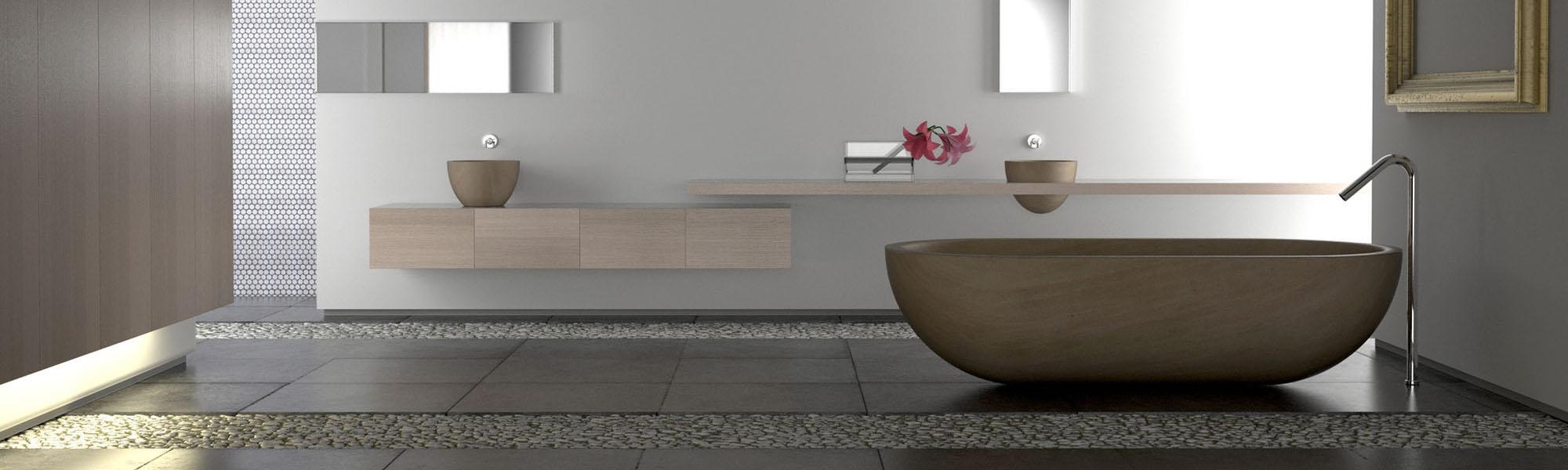 Salle de bain r novation en aveyron 12 bcd concept for Concept usine salle de bain