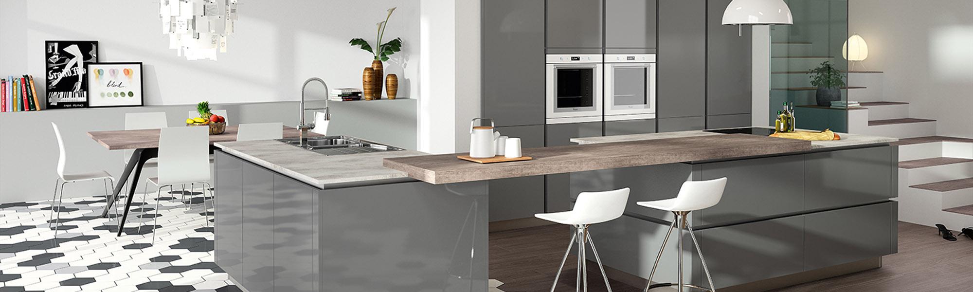 aménagement de cuisine près de rodez en aveyron - bcd concept